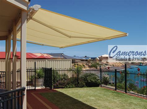 alfresco awnings camerons blinds awnings folding arm awnings