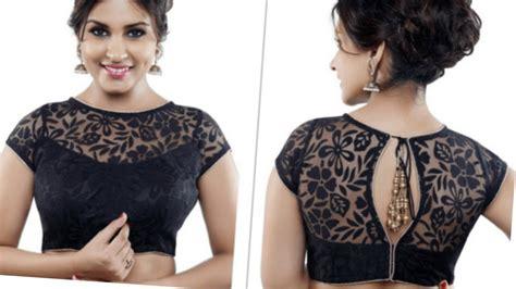 boat neck net blouse new boat neck net model blouse in hindi wedding blouse
