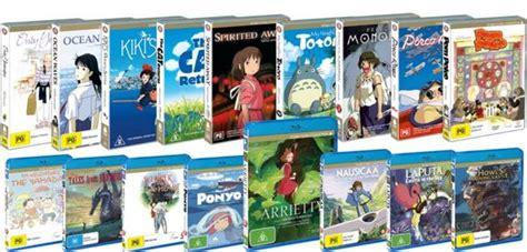 film ghibli blue ray studio ghibli dvd and blu rays