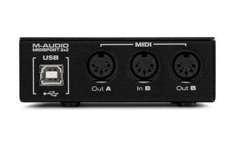 M Audio Midi Sport Uno 1 m audio midisport 2x2 sound 7
