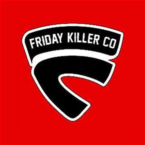 Kaos Friday Killer Original 7 45 logo brand distro asal indonesia grafis media