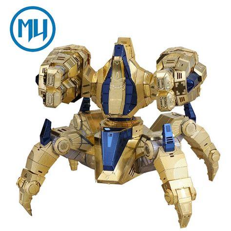 Mu 3d mu 3d metal puzzle starcraft 2 protoss immortal arms model
