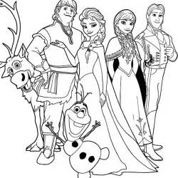 Frozen Black And White Coloring Pages Sketch Page sketch template