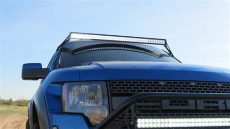 ford raptor roof light bar shop ford f150 raptor light bar roof mount at add offroad