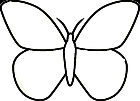 black and white coloring pages of butterflies butterfly color template clipart best