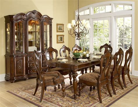 worcester formal dining room table set furniture