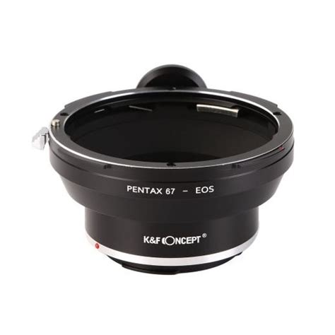 Kf Lens Adapter Lensa Canon Eos Mount To Fuji X Series Fx k f concept pentax 67 lenses to canon eos mount adapter with tripod mount