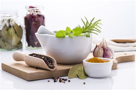 Kitchen Items Used As Medicine Free Photo Herbs Spices Ingredients Kitchen Free