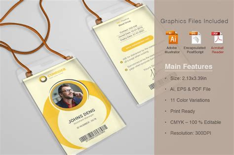 id card template ai ai and psd identity card template for business corporate and office graphic cloud
