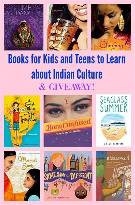 Book Giveaway India - books for kids and teens to learn about indian culture pragmaticmom