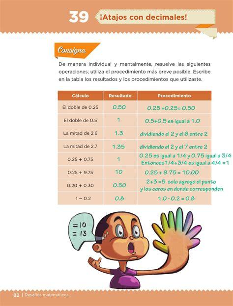 respuestas de bloque 3 de 6 ayuda para tu tarea de sexto respuestas del libro de mate 5 grado paco el chato ayuda