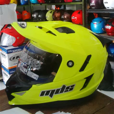 Murah Mds Superpro Solid Supermoto jual mds superpro solid supermoto toko helm