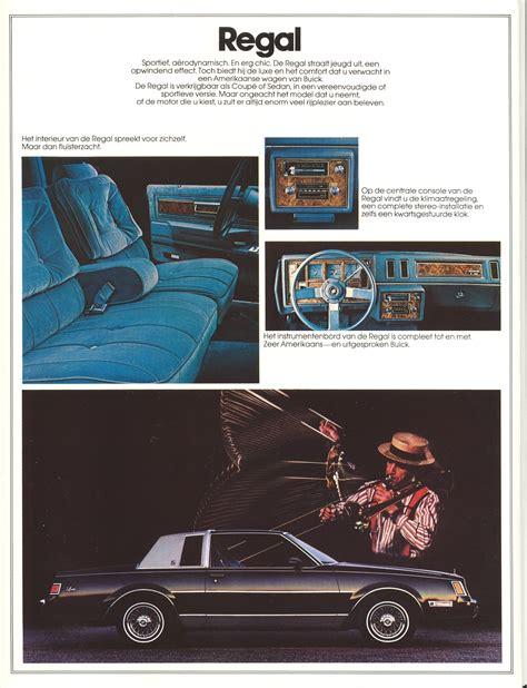 old cars and repair manuals free 1984 buick electra interior lighting 1984 buick brochure