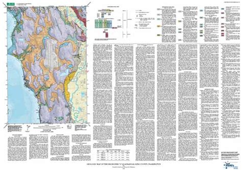 seattle geologic map geologic map of the des moines 7 5 quadrangle king