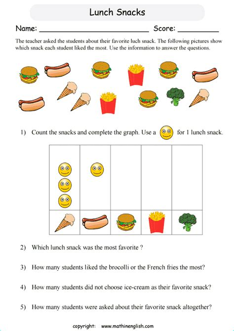 bunch ideas of free graphing worksheets for grade