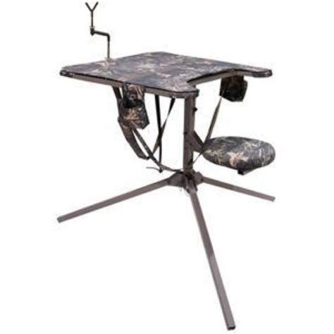 swivel shooting bench ambush psbs 092 portable shooting bench swivel