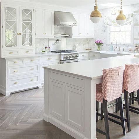 kitchen island cum dining table stunning contemporary white kitchen ideas prettyeasylife com