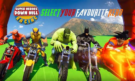bug isat 2018 super heroes downhill racing app report on mobile action
