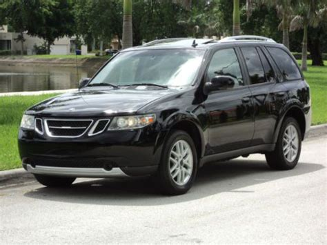 automobile air conditioning service 2009 saab 9 7x engine control sell used 2009 saab 9 7x awd 4x4 non smoker low miles onstar clean must sell no reserve in