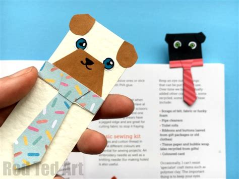Free Pug Card Template by Hug A Book Pug Bookmark Diy Ted S