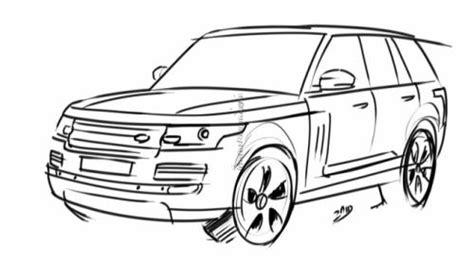 Coloriage 224 Imprimer V 233 Hicules Voiture Land Rover