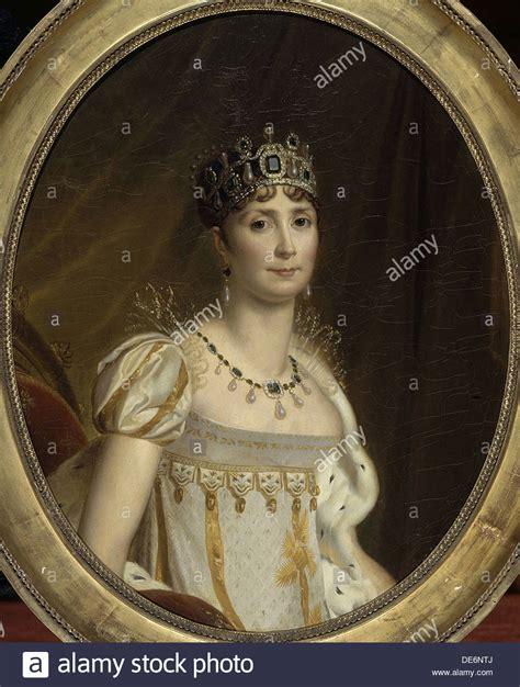 jacques françois simon empress josephine bonaparte portrait stock photos