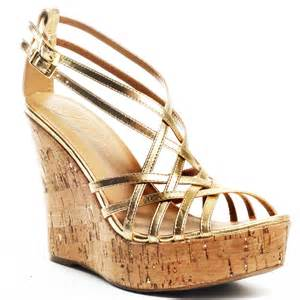 gold wedges shoes fergie s gold quiana wedge gold for 53 39 direct from