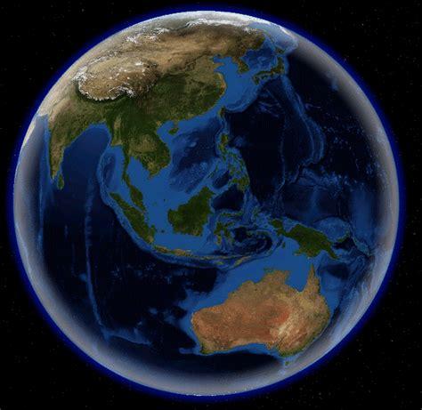 gambar bumi dilihat  luar angkasa gambar hidup