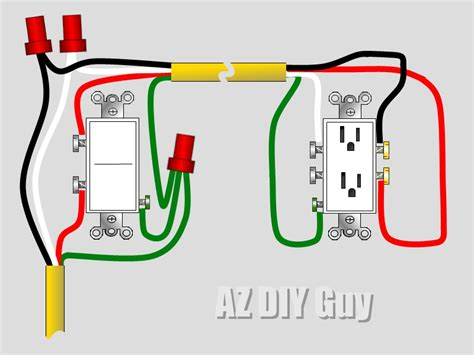 3 way switch wiring with split outlet 3 free engine