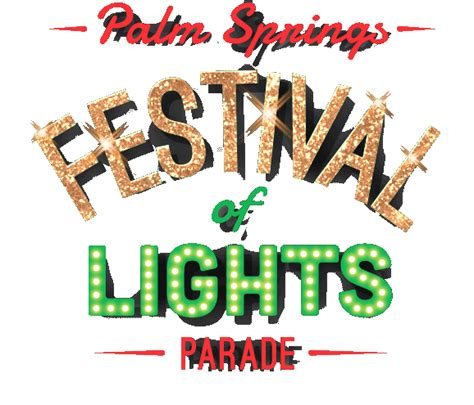 palm springs light parade palm springs festival of lights parade