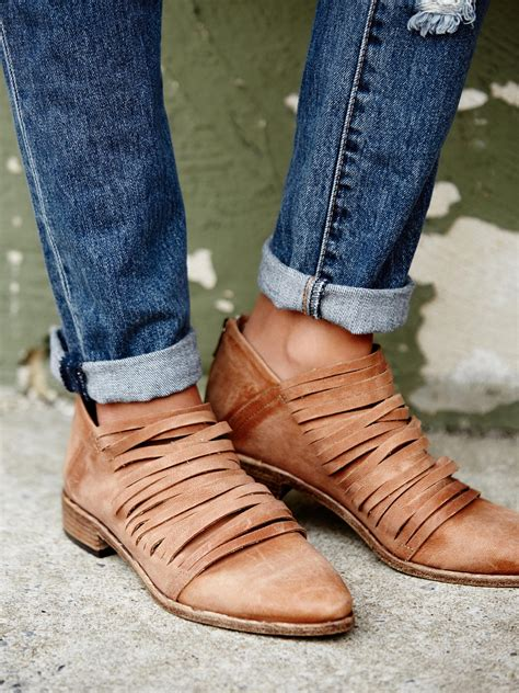 free ankle boots free lost valley ankle boot in brown lyst