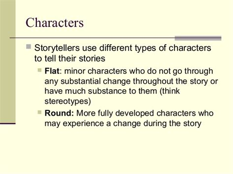 Character Definition