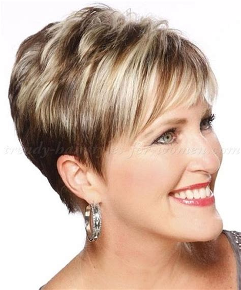 short trendy hair cut for a 50 year old 25 best ideas about over 60 hairstyles on pinterest