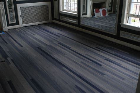 Blue wood flooring   Homes Floor Plans