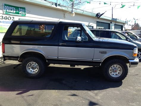 1995 ford bronco information and photos zombiedrive