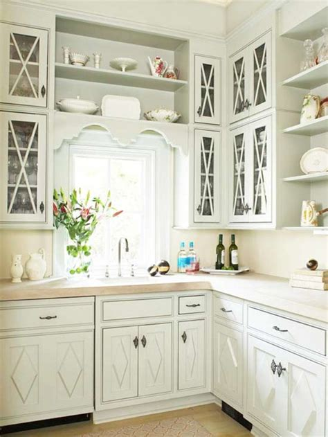 White Kitchen Cabinet Hardware Ideas Bhg Centsational Style