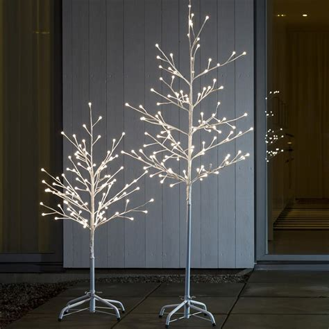 konstsmide 3377 100 led 96cm white berry christmas twig