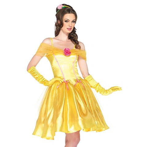 Princess Dress Import Yellow Hasio k147 princess storybook fairytale fancy dress costume the beast