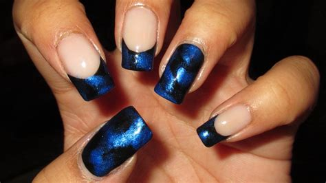 Ideas For Kitchen Decor blue and black nail designs blue nail designs to beauty