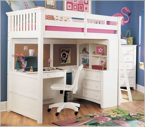 bunk bed  desk ideas  saves space recous