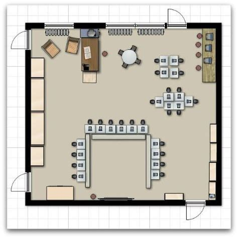 classroom floor plans home the o jays and desks on pinterest