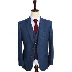Suits For Men Retro Gentleman Style Custom Made Mens 3 Piece Suit » Ideas Home Design