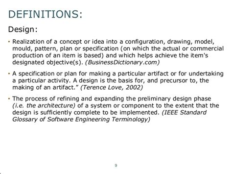 preliminary layout meaning an introduction to fundamental architecture concepts