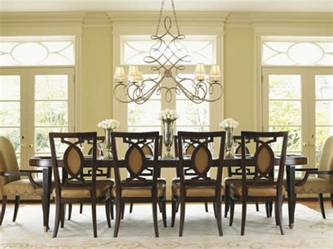 dining room table chandeliers dining table how far above a dining table should a