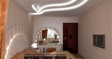 modern pop false ceiling designs  bedroom