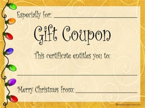 printable coupon gift template 13 free html coupon templates styles designs