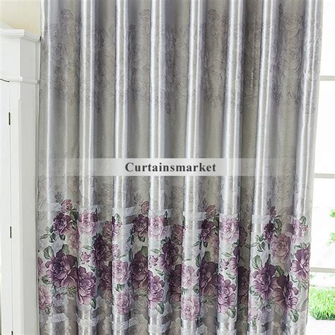 Grey And Purple Curtains Purple Gray Curtains Buy Anya 84 Inch Grommet Window Curtain Panel In Purple Grey From Bed