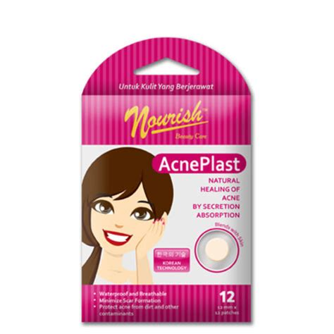 nourish acne plast girl gogobli