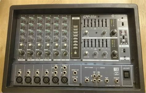 Power Mixer Yamaha 6 Chanel yamaha emx66m 6 channel powered mixer for sale in artane dublin from carissa