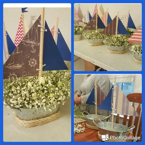 nautical baby shower centerpiece baby shower nautical